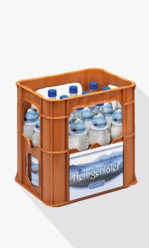 Heiligentaler Kiste Medium PET Flasche